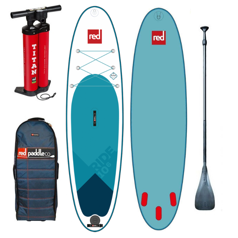 2019 RED PADDLE RIDE CO BASIC LINE BOARD + ALLOY PADDLE