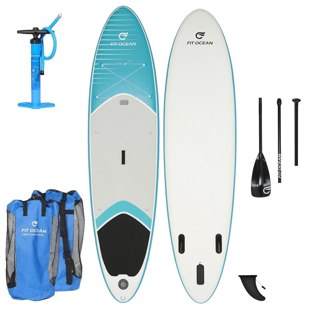 2019 FIT OCEAN MAGIC GLIDE AQUA BOARD + ALLOY PADDLE